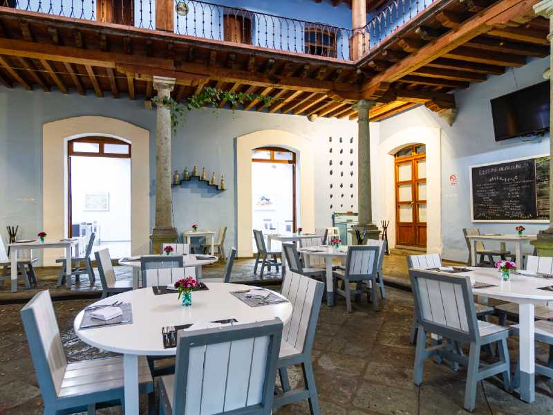 The Hotel Azul Restaurant Oaxaca